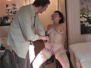My Hotwife nearly her bull, Hubby Cuckold was filming Part1