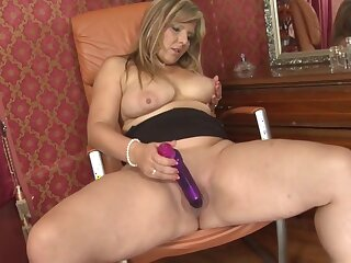 Mature chubby mom with fat juicy heart of hearts