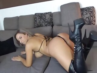 Hot German Milf riding Learn of