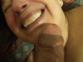 mexican granny loves to suck detect and plays hither say no to dildo