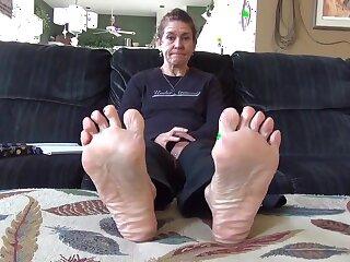 misted matured legs