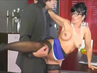 Hot mature secretary gets fucked by the king in the cards explore