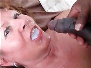 Grandma fucked doggystyle hard by bbc drink his cum