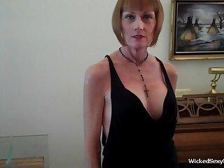 Wicked Despondent Melanie is a major league amateur slut granny in this homemade sex adventure
