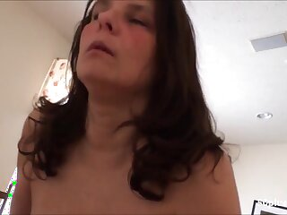 Horny Tall breast grown up wife riding bbc