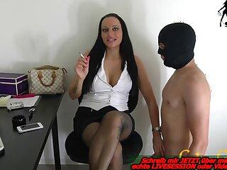 german milf attempt a office related bdsm femdom