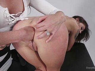 Hot girls Ariel X and Kacie Citadel anal dilatation more fisting