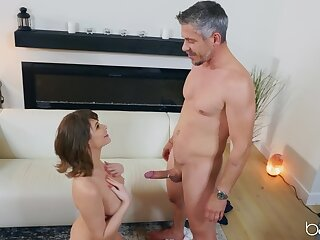 Got up become man Emily Addison undressed with the addition of fucked yawning chasm by say no to husband