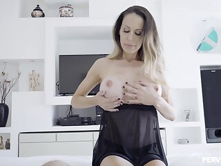 Smutty dude gets unlucky and penetrates his neighbor's sexy wifey