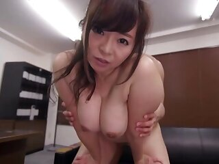 Asian milf with pretentiously tits, superb fuck at the tryst