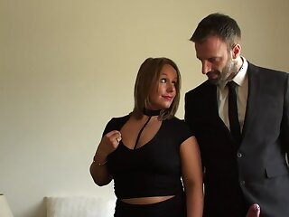 Spiffy woman leaves this man wide ruin her mature pussy increased by ass