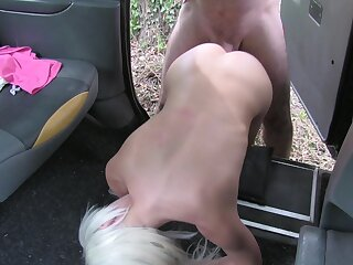 first time fucked on touching a car and jizzed on ass