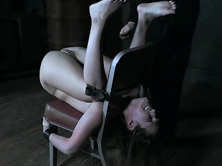 Teensy-weensy princess Sasha Constituent tied with respect to and tortured to merging orgasms