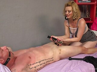 Brutal together with painful dick anguish session by mart Cherry Torn