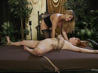 Lesbians share the lustful femdom moments far premium angles
