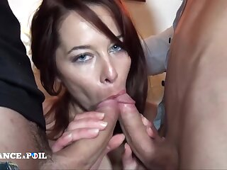 Casting Of A Gorgeous Redhead Whore