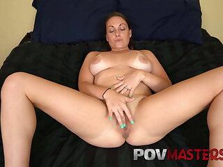 Big Natural Tits Melanie Hicks Big Cock POV