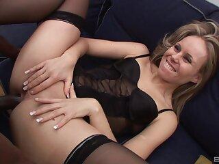 Insidious dude with a giant cock fucks ass of seductive Sindy Lange