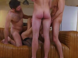 Tanya french mummy very first group and mass ejaculation
